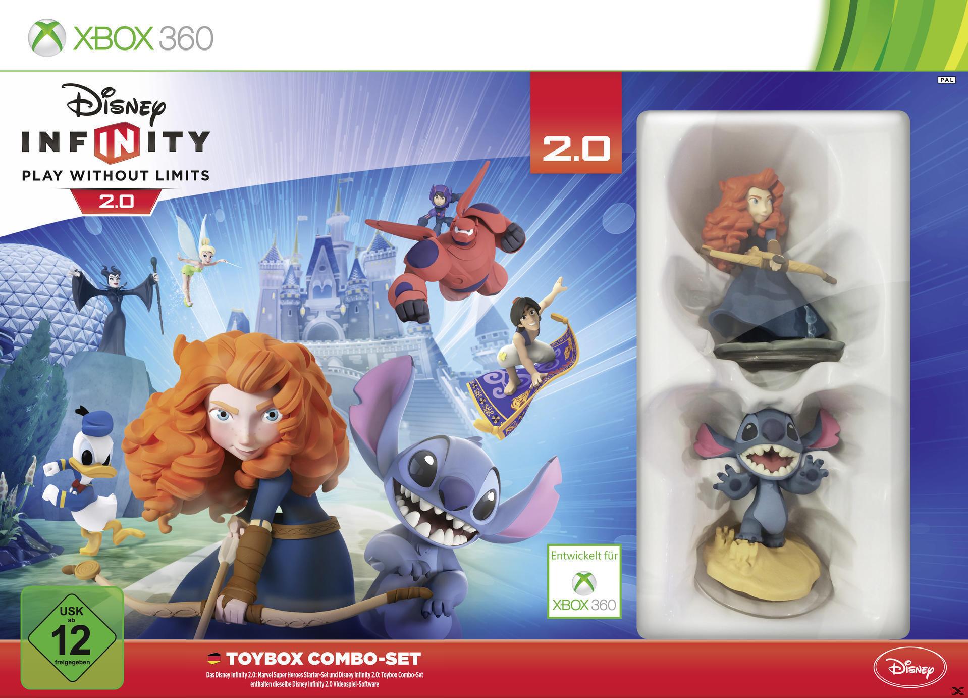 Disney Infinity 2.0: Toybox Combo-Set (XBox 360) für 5,00 Euro