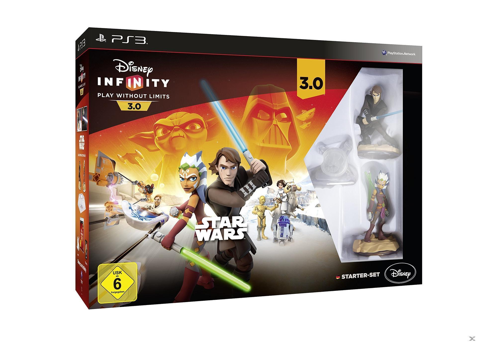 Disney Infinity 3.0: Play Without Limits Star Wars Starter-Set (Playstation3) für 22,99 Euro