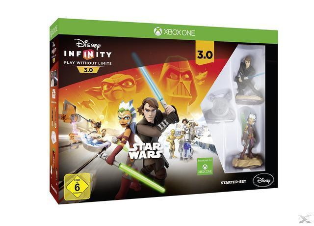 Disney Infinity 3.0: Play Without Limits Star Wars Starter-Set (Xbox One) für 15,00 Euro