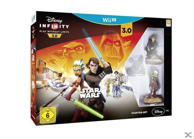 Disney Infinity 3.0: Play Without Limits Star Wars Starter-Set (Nintendo Wii U) für 33,00 Euro