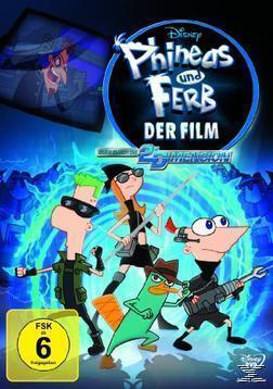 Disney Phineas und Ferb Der Film: Quer durch die 2. Dimension (DVD) für 8,99 Euro