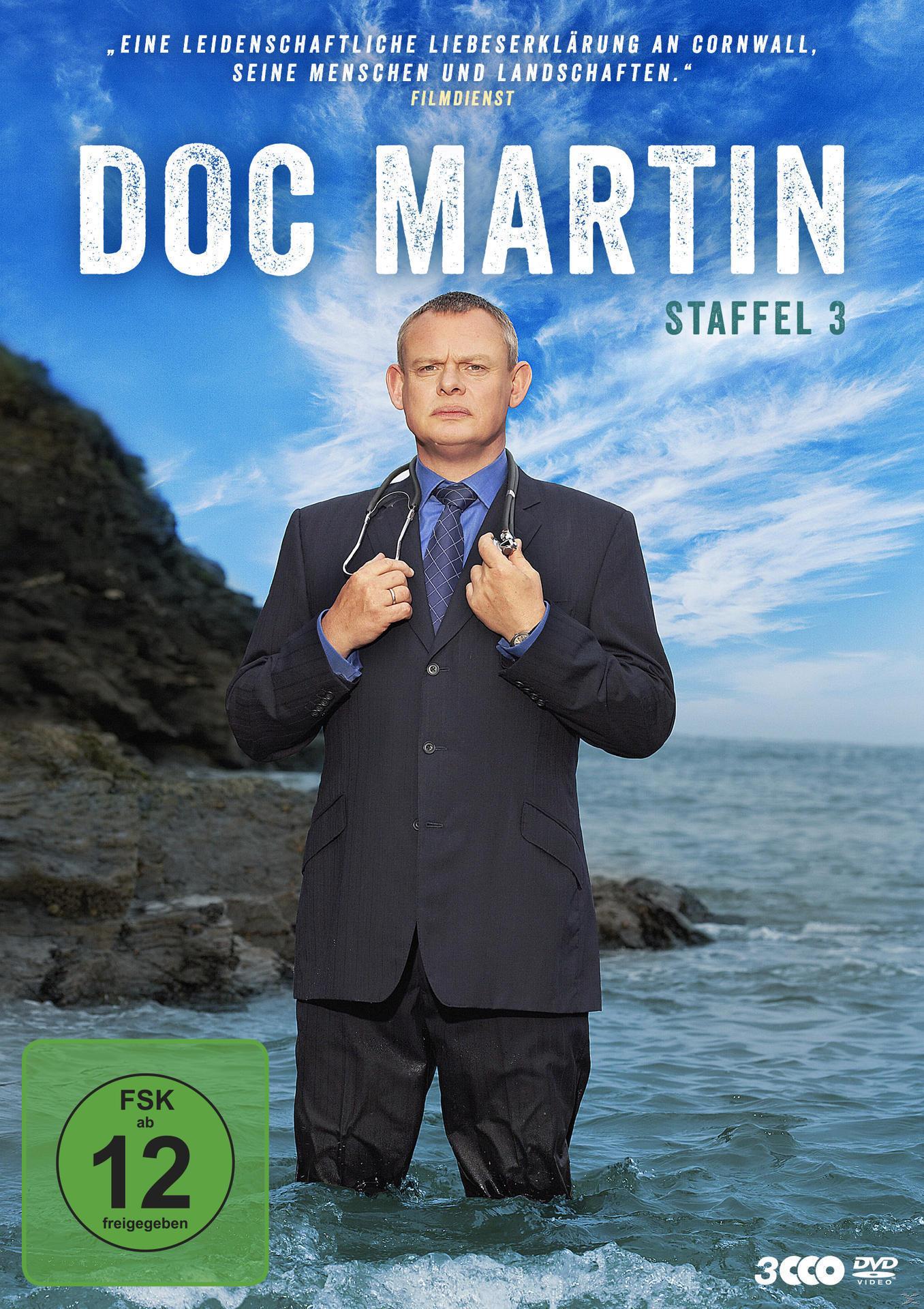 Doc Martin - Staffel 3 DVD-Box (DVD) für 19,99 Euro
