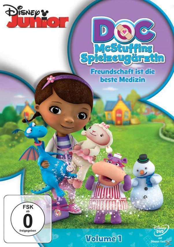 Doc McStuffins, Spielzeugärztin Volume 1: Freundschaft ist die beste Medizin (DVD) für 7,99 Euro