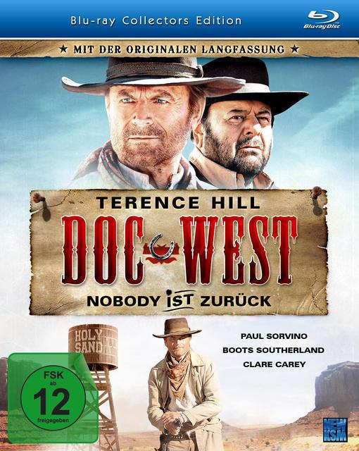 Doc West - Nobody ist zurück Collector's Edition (BLU-RAY) für 14,99 Euro