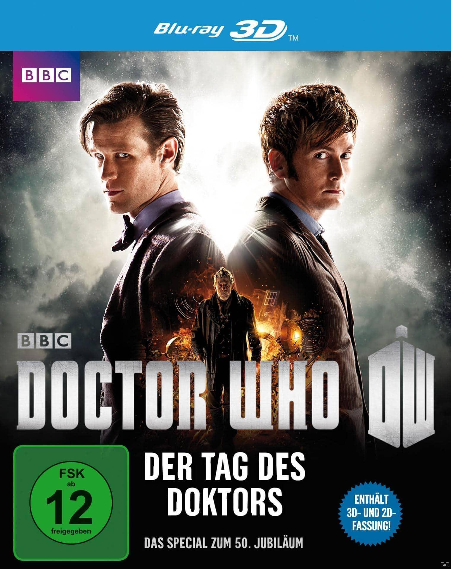 Doctor Who - Der Tag des Doktors 3D-Edition (BLU-RAY 3D) für 12,99 Euro