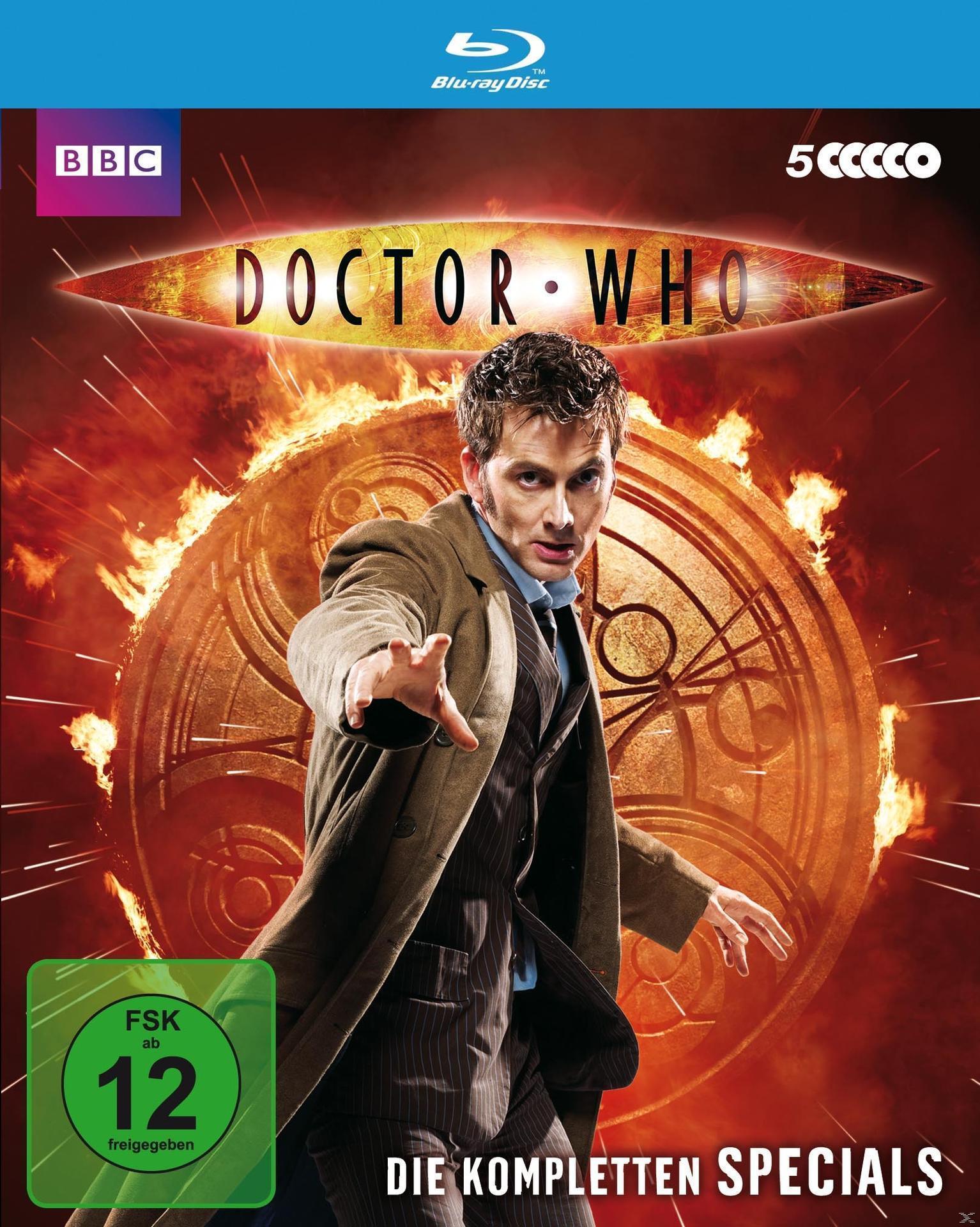 Doctor Who - Die kompletten Specials (BLU-RAY) für 36,99 Euro