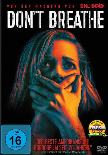 Don't Breathe (DVD) für 13,99 Euro