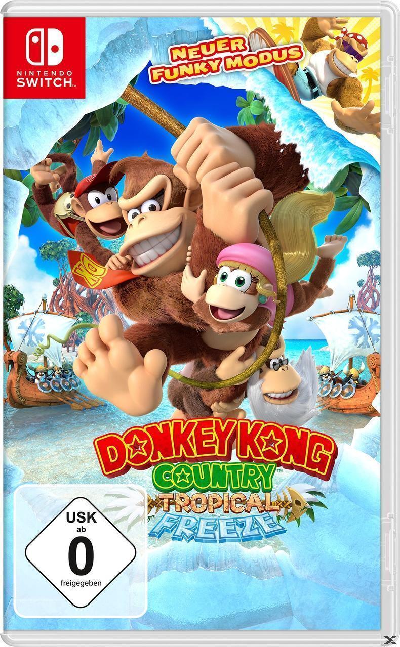 Donkey Kong Country: Tropical Freeze (Nintendo Switch) für 57,99 Euro
