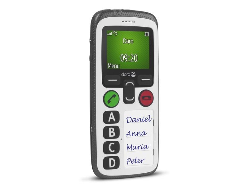 Doro Secure 580 Handy großes beleuchtetes Farbdisplay spritzwassergeschützt für 129,99 Euro