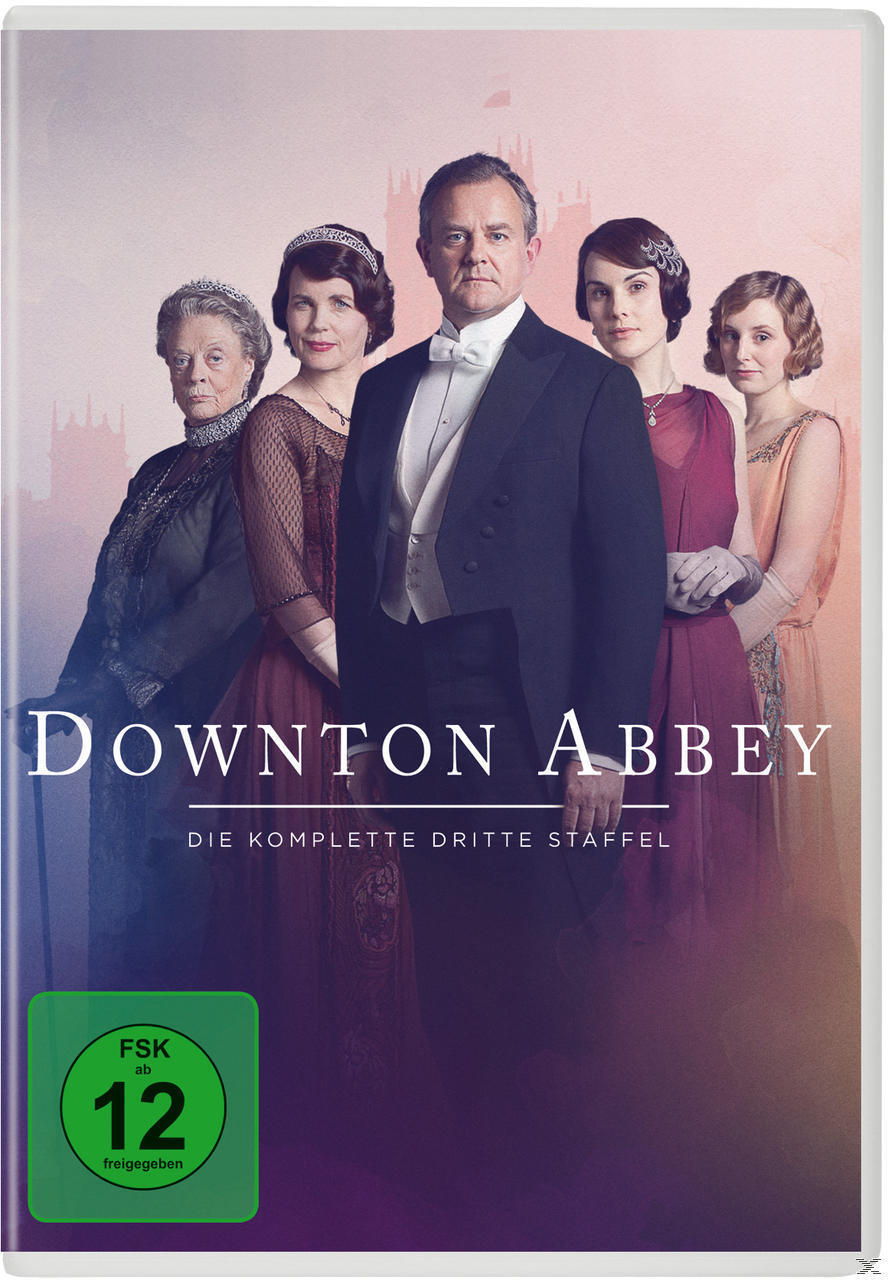 Downton Abbey - 3. Staffel DVD-Box (DVD) für 9,99 Euro