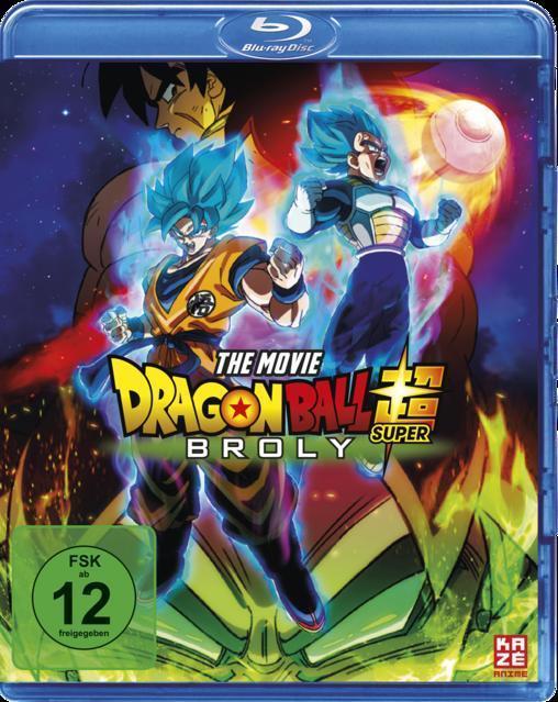 Dragonball Super: Broly (BLU-RAY) für 19,99 Euro
