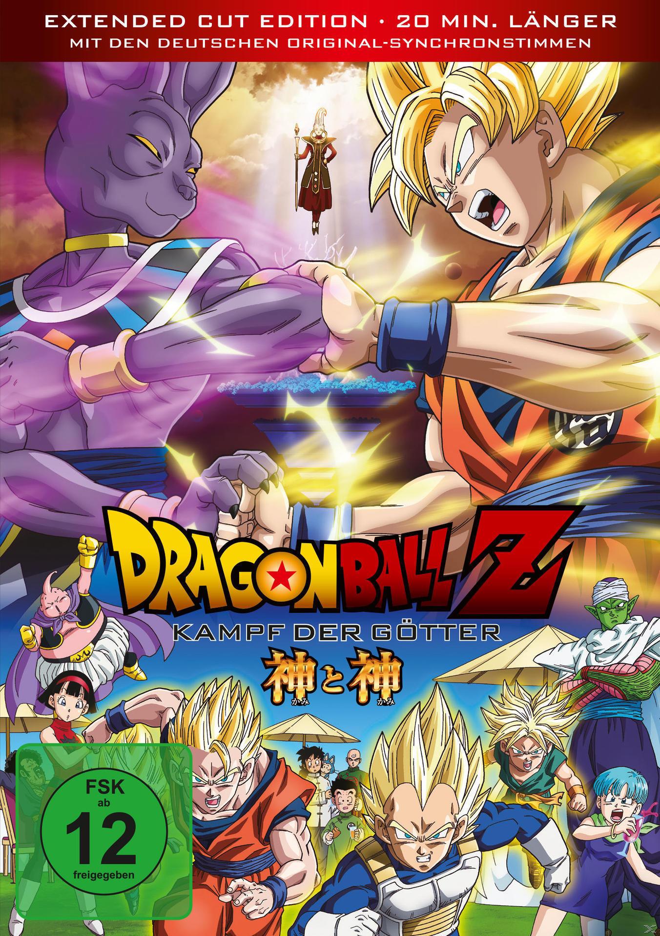 Dragonball Z - Kampf der Götter Extended Edition (DVD) für 19,99 Euro