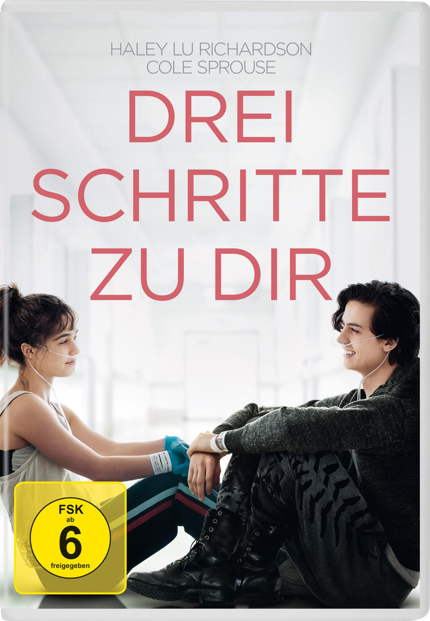 Drei Schritte zu dir (DVD) für 12,99 Euro