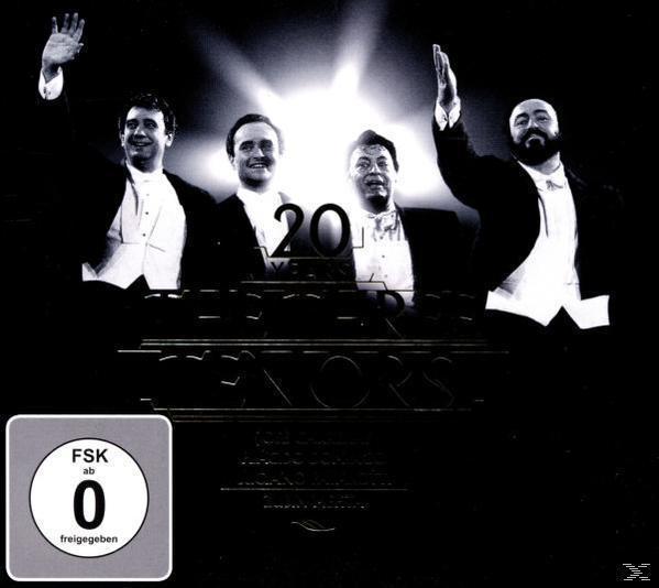 Drei Tenöre Jubiläums-Edition (CD+DVD) (Plácido Domingo) für 12,49 Euro