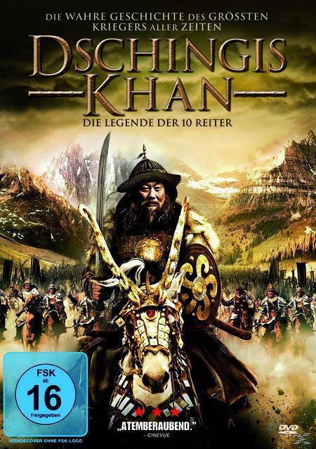 Dschingis Kahn - Die Legende der 10 Reiter (DVD) für 8,49 Euro