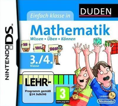DUDEN Mathematik 3./4. Klasse (Nintendo DS) für 29,99 Euro