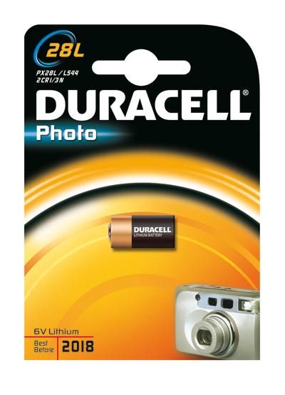 Duracell Photo 28L für 11,99 Euro
