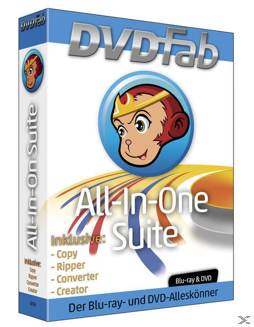 DVDFab All-In-One-Suite (PC) für 199,00 Euro