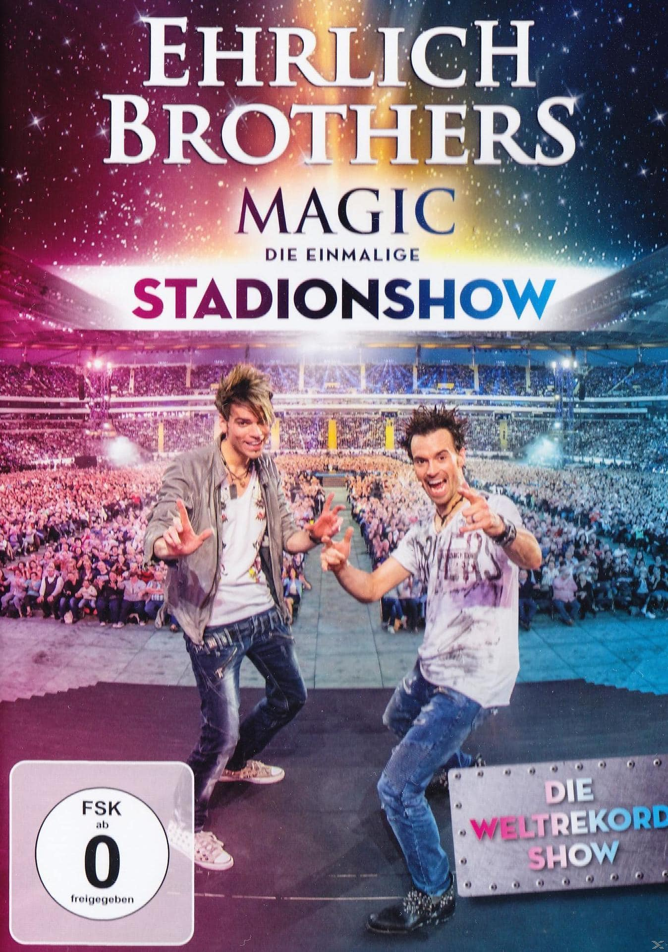 Ehrlich Brothers - Magic: Die einmalige Stadion-Show (DVD) für 15,99 Euro