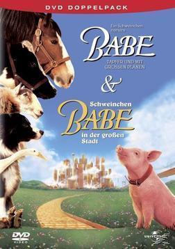 Ein Schweinchen namens Babe & Schweinchen Babe in der großen Stadt - DVD Doppelpack (DVD) für 7,99 Euro