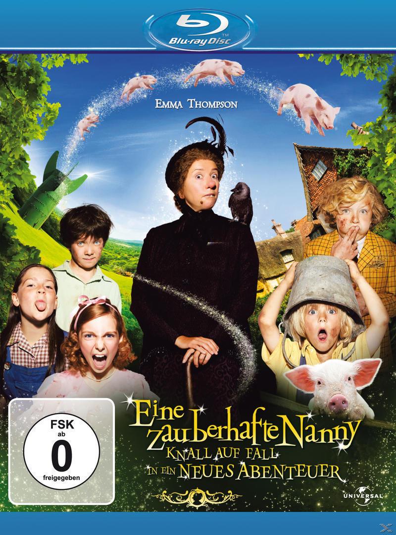 Eine zauberhafte Nanny: Knall auf Fall in ein neues Abenteuer (BLU-RAY) für 14,99 Euro
