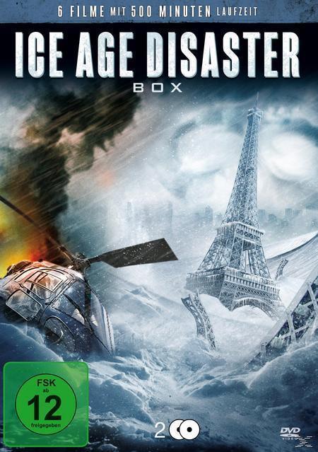 Eiszeitalter - The Age of Ice, 100 Below Zero - Kalt wie die Hölle, 40 Days and Nights, Der Supersturm - Die Wetterapokalypse, Weather Wars, Hypercane (DVD) für 6,99 Euro