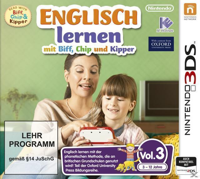 Englisch lernen mit Biff, Chip und Kipper Vol. 3 (Nintendo 3DS) für 24,99 Euro