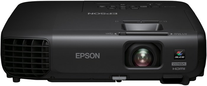 Epson EB-S03 Projektor 3LCD SVGA 800 x 600 VGA HDMI S-Video Schwarz für 274,00 Euro