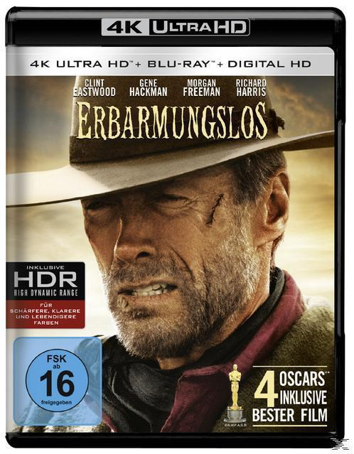 Erbarmungslos - 2 Disc Bluray (4K Ultra HD BLU-RAY + BLU-RAY) für 25,99 Euro