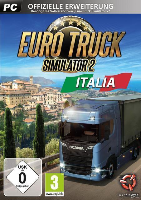 Euro Truck Simulator 2: Italia (PC) für 17,99 Euro