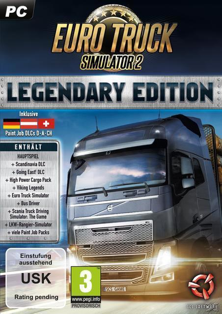 Euro Truck Simulator 2 - Legendary Edition (PC) für 39,99 Euro