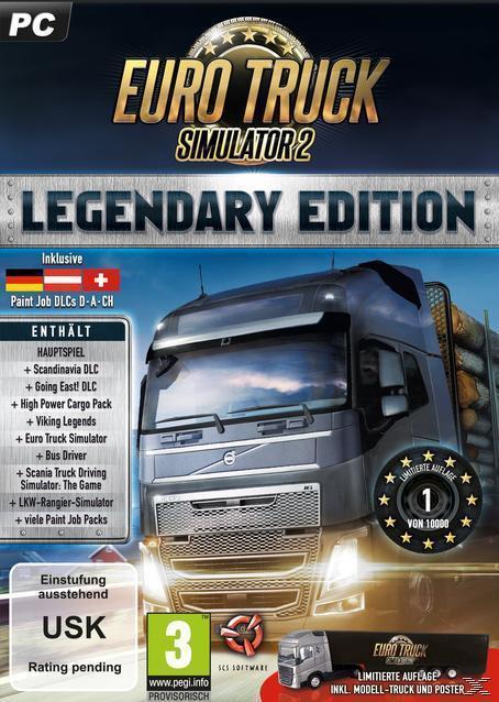 Euro Truck Simulator 2 - Legendary Edition (Limited) (PC) für 49,99 Euro