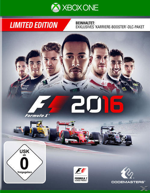 F1 2016 Limited Edition (Xbox One) für 29,99 Euro