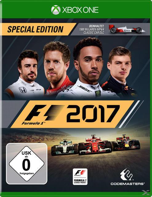 F1 2017 Special Edition (Xbox One) für 69,99 Euro