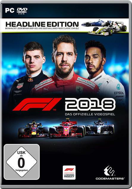 F1 2018 Headline Edition (PC) für 49,99 Euro