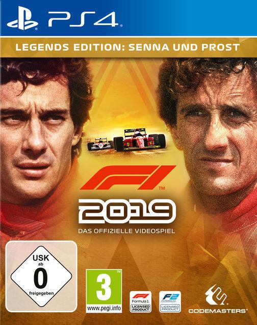 F1 2019 Legends Edition (PlayStation 4) für 74,99 Euro