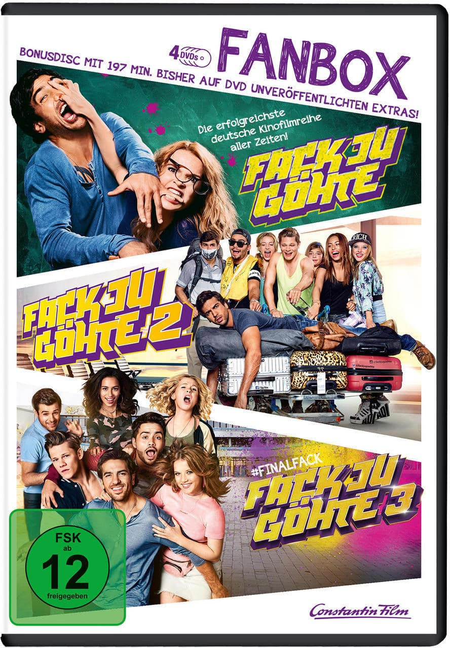 Fack Ju Göhte 1-3 Fanbox DVD-Box (DVD) für 14,99 Euro