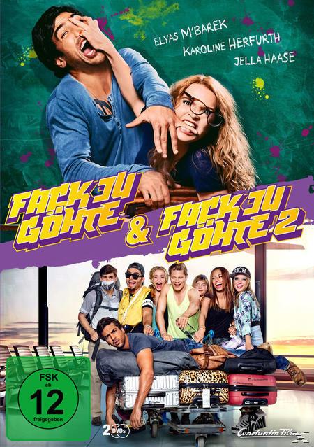 Fack Ju Göhte, Fack Ju Göhte 2 - 2 Disc DVD (DVD) für 8,99 Euro