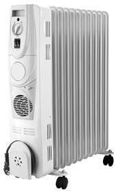 Fakir HR 11 TURBO prestige Ölradiator 11 Rippen 4 Leistungsstufen für 133,99 Euro