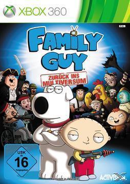 Family Guy: Zurück ins Multiversum (XBox 360) für 19,99 Euro