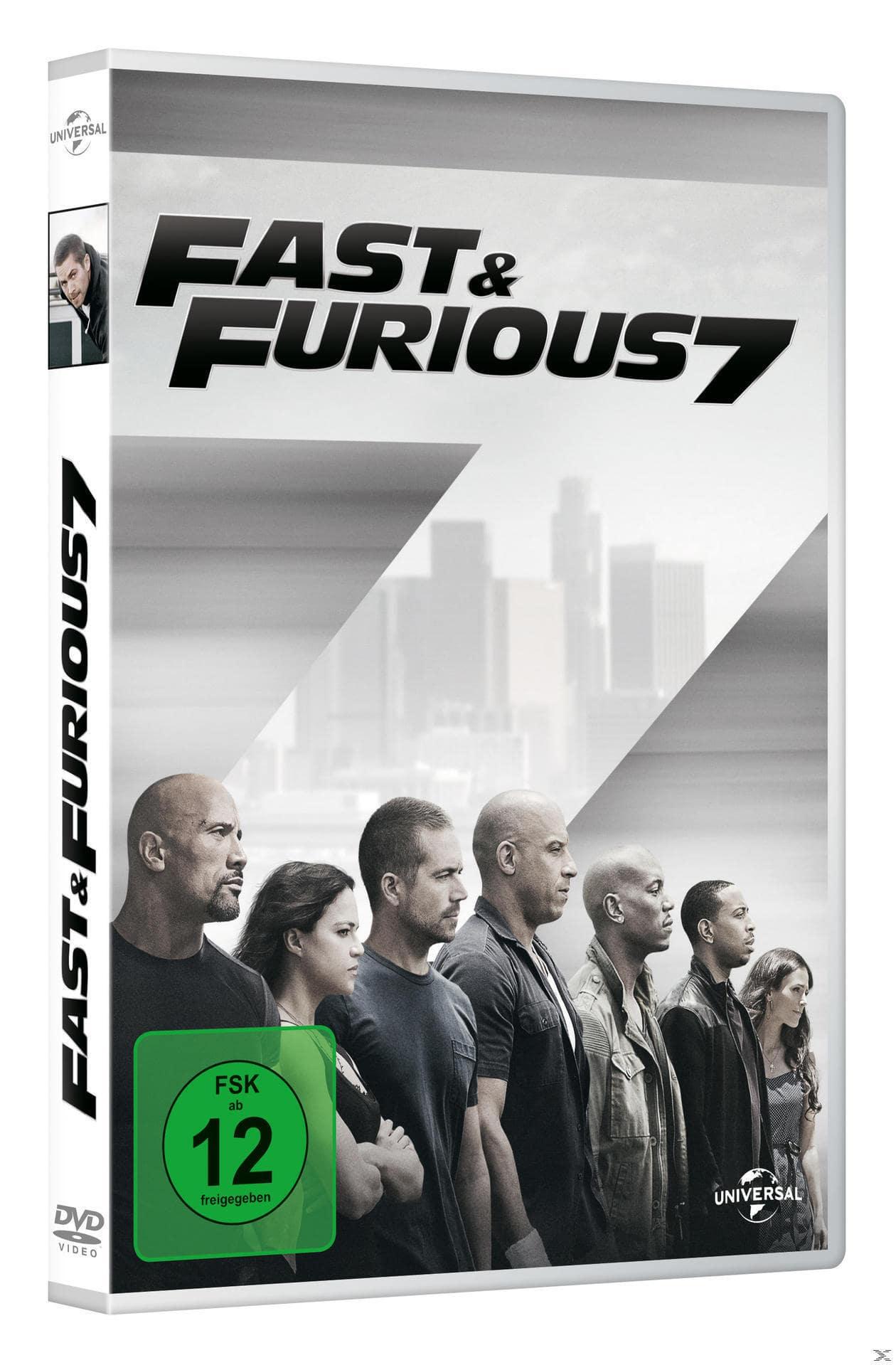 Fast & Furious 7 (DVD) für 8,99 Euro