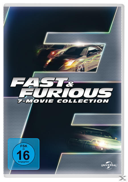 Fast & Furious - 7 Movie Collection DVD-Box (DVD) für 19,99 Euro