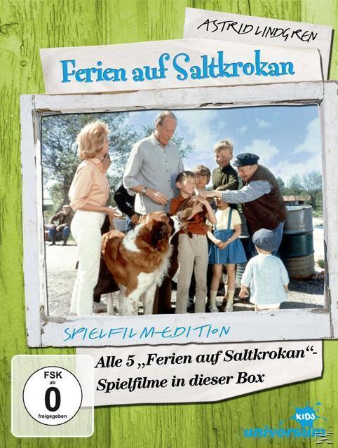 Ferien auf Saltkrokan - Teil 1-5 DVD-Box (DVD) für 41,99 Euro