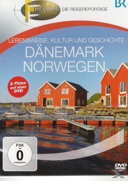Fernweh - Lebensweise, Kultur und Geschichte: Dänemark & Norwegen (DVD) für 13,99 Euro