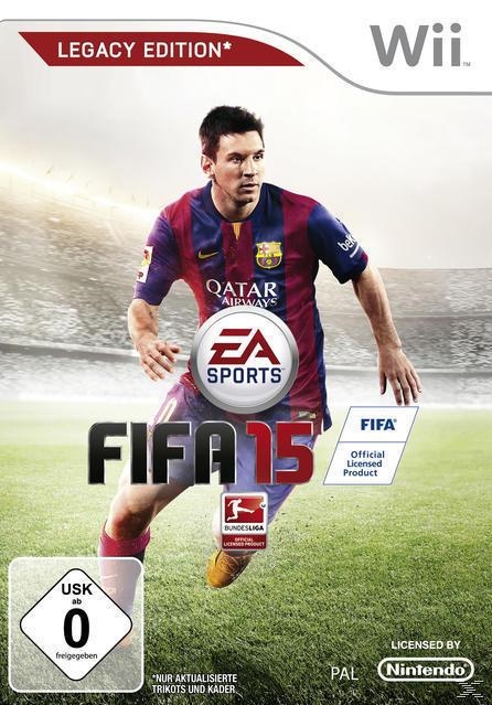 FIFA 15 Legacy Edition (Software Pyramide) (Nintendo WII) für 22,00 Euro