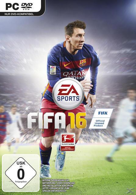 FIFA 16 (Software Pyramide) (PC) für 10,00 Euro