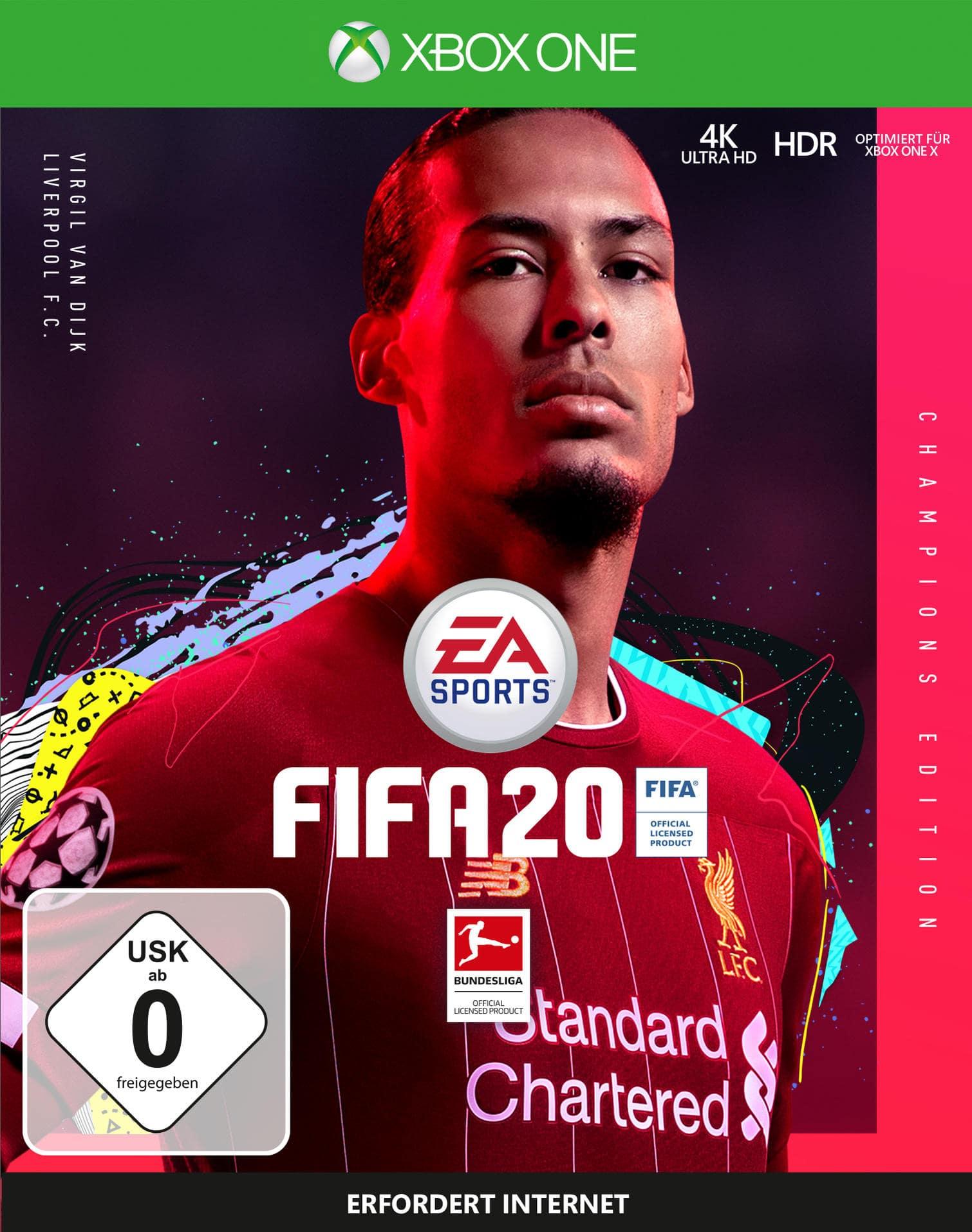 FIFA 20 - Champions Edition (Xbox One) für 89,99 Euro