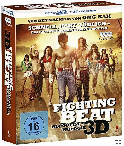 Fighting Beat (Bloodfist - Trilogie) (Bluray 3D) für 19,99 Euro
