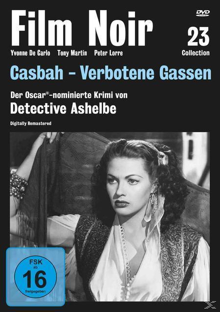 Film Noir Collection #23: Casbah - Verbotene Gassen (DVD) für 14,61 Euro