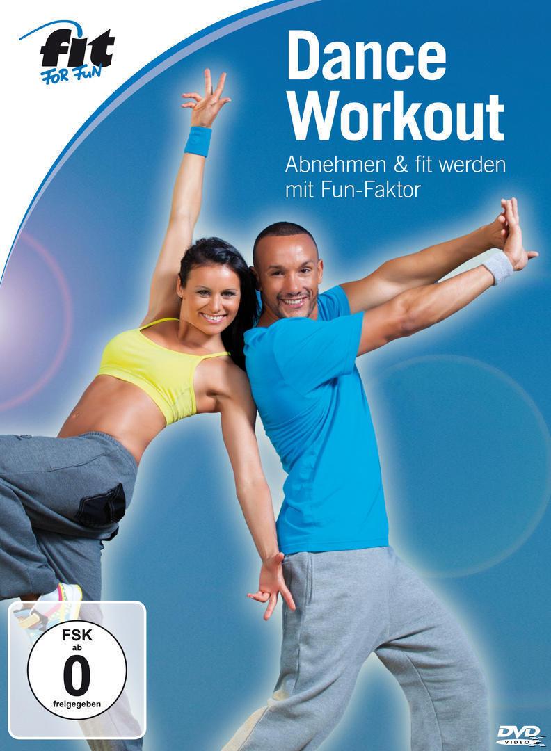 Fit For Fun - Dance Workout - Abnehmen & fit werden mit Fun-Faktor (DVD) für 16,99 Euro